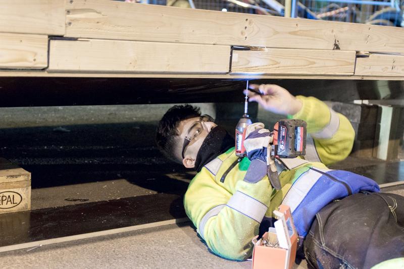 isolere gulv i minihus henger